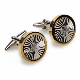Bond Gold Vector Cufflinks