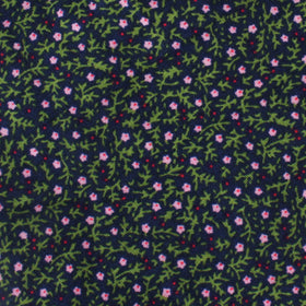 Boston Floral Garden Pocket Square