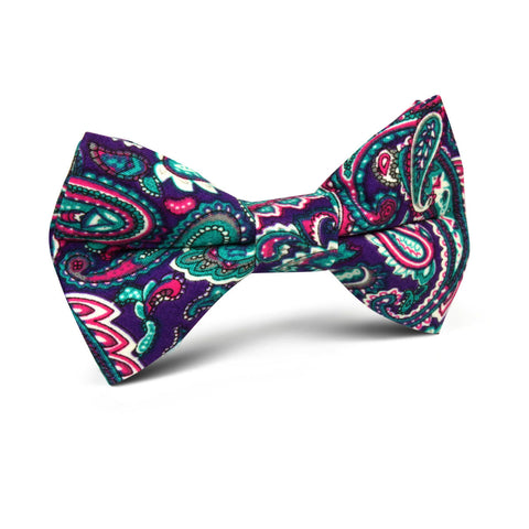 Botte Jegge Paisley Kids Bow Tie