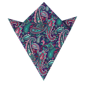 Botte Jegge Paisley Pocket Square