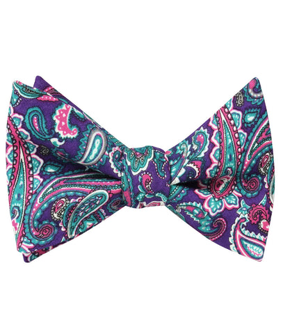 Botte Jegge Paisley Self Bow Tie