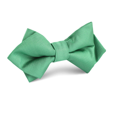 Brazilian Green Diamond Bow Tie