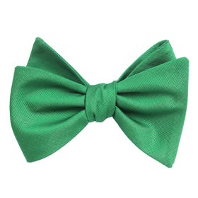 Brazilian Green Self Tie Bow Tie