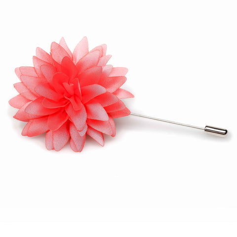 Bright Pink Lapel Flower