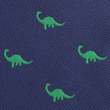 Brontosaurus Dinosaur Fabric Pocket Square