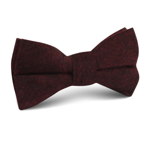 Brooklyn Burnt Red Kids Bow Tie