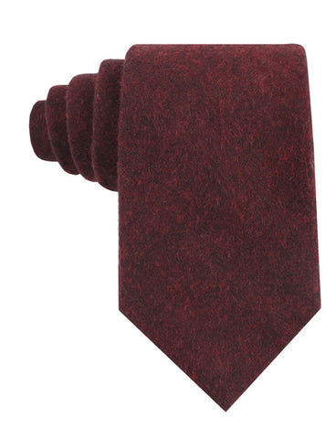 Brooklyn Burnt Red Tie