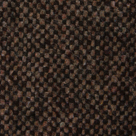 Brown Caramel English Wool Kids Diamond Bow Tie