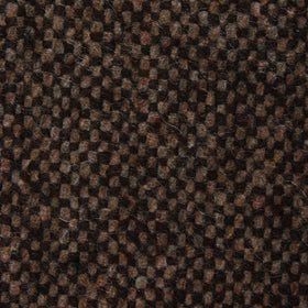 Brown Caramel English Wool Bow Tie