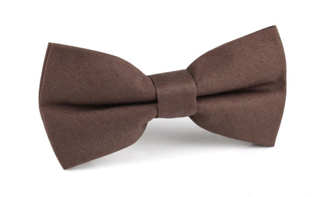 Brown Cotton Bow Tie