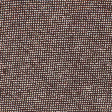 Brown Gingerbread Linen Pocket Square