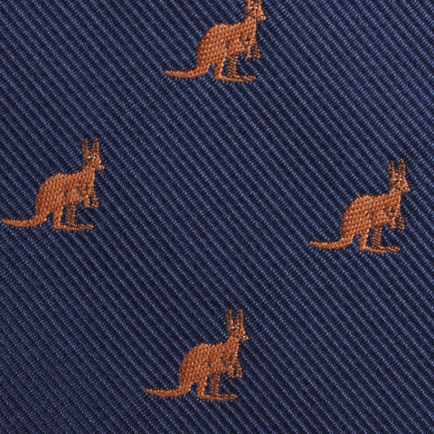 Brown Kangaroo Kids Bow Tie