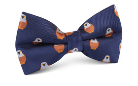 Brown Pigeon Bird Bow Tie
