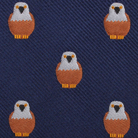 Brown Pigeon Bird Pocket Square