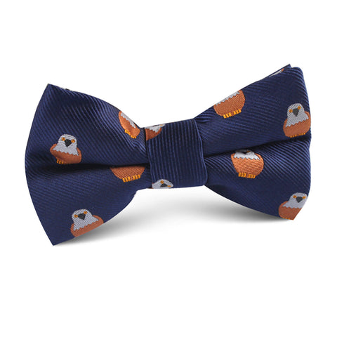Brown Pigeon Bird Kids Bow Tie