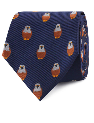 Brown Pigeon Bird Tie