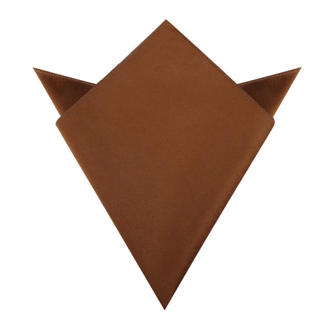 Brown Velvet Pocket Square