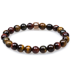 Buccaneer Tiger's Eye Rose Gold Bracelet