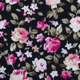 Bucharest Blossom Floral Fabric Pocket Square