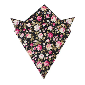 Bucharest Blossom Floral Pocket Square