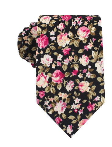 Bucharest Blossom Floral Tie