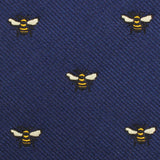 Bumble Bee Fabric Kids Bowtie