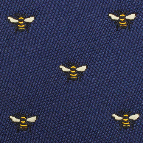 Bumble Bee Diamond Bow Tie