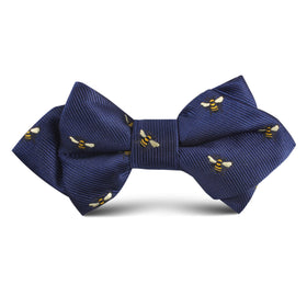 Bumble Bee Kids Diamond Bow Tie