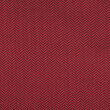 Burgundy Herringbone Pocket Square Fabric