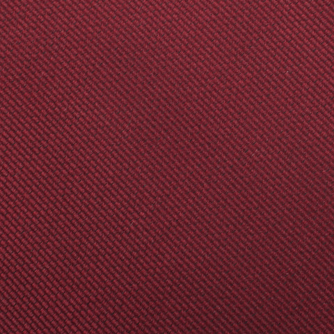 Burgundy Weave Pocket Square
