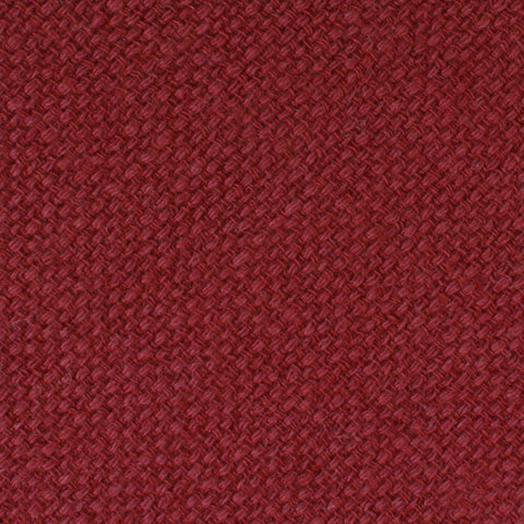 Burnt Burgundy Basket Weave Linen Bow Tie