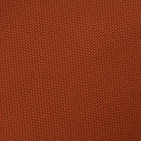 Burnt Orange Rust Weave Pocket Square