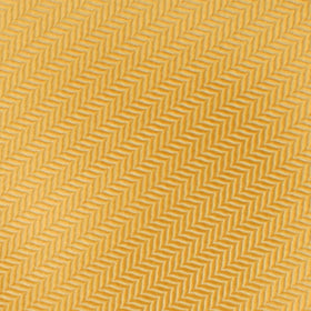 Butterscotch Yellow Herringbone Chevron Pocket Square