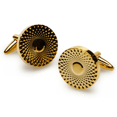 Casino Royale Gold Cufflinks
