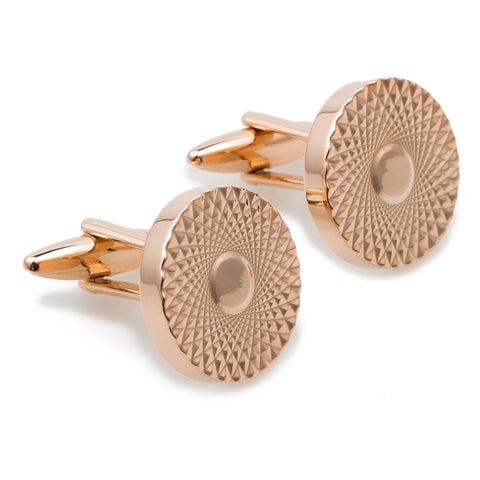 Casino Royale Rose Gold Cufflinks