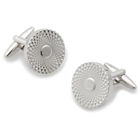 Casino Royale Silver Cufflinks
