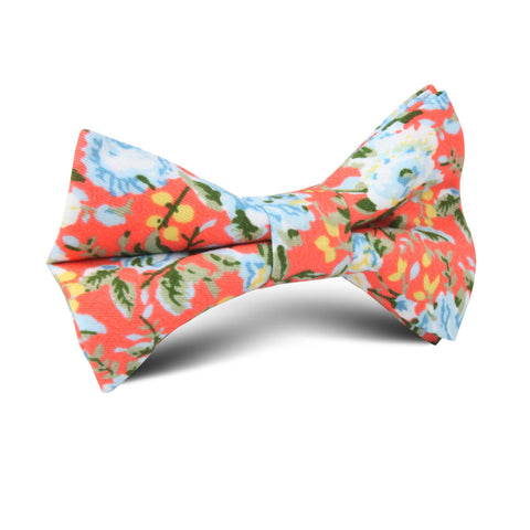 Cayman Island Floral Kids Bow Tie