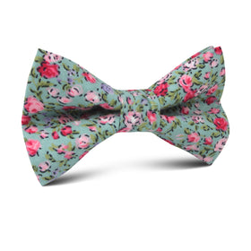 Centifolia Floral Roses Kids Bow Tie