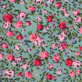 Centifolia Floral Roses Self Bow Tie Fabric