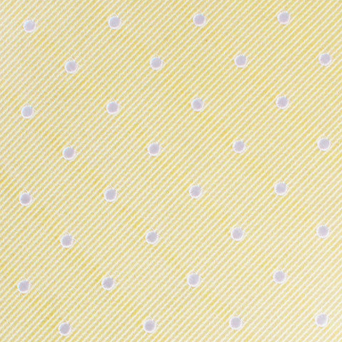 Champagne Polka Dot Pocket Square