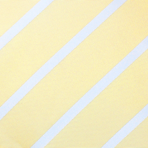 Champagne Stripe Kids Bow Tie