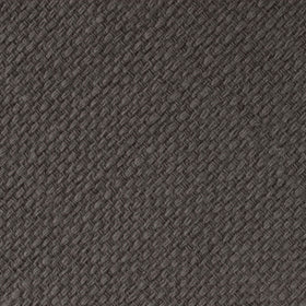 Charcoal Graphite Weave Linen Kids Bow Tie