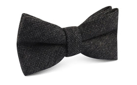 Charcoal Donegal Bow Tie