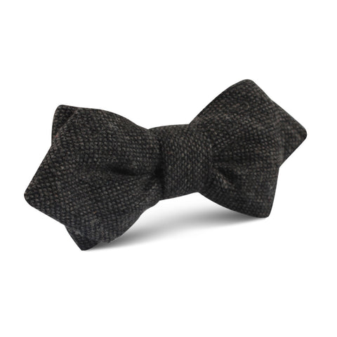 Charcoal Donegal Diamond Bow Tie