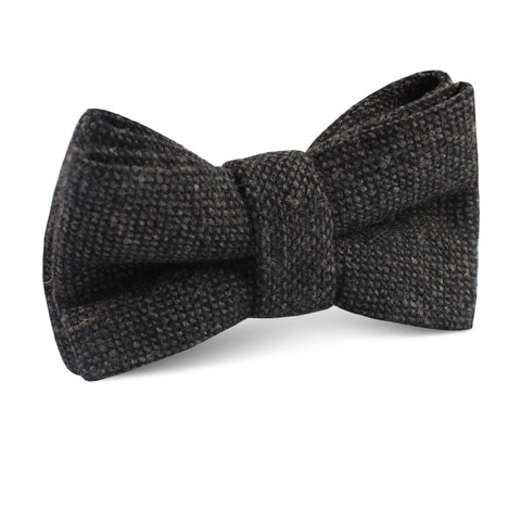 Charcoal Donegal Kids Bow Tie
