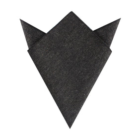 Charcoal Donegal Pocket Square