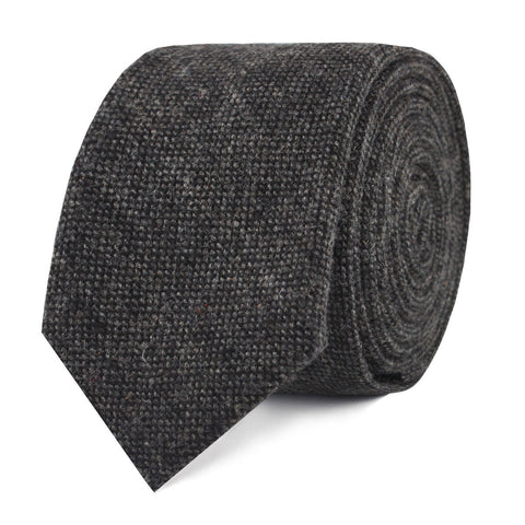 Charcoal Donegal Skinny Tie