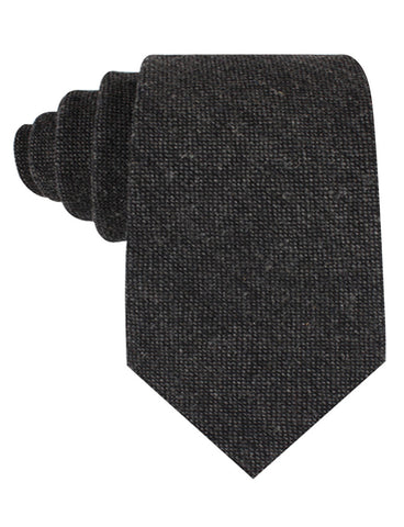 Charcoal Donegal Tie