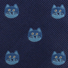 Cheshire Cat Face Kids Diamond Bow Tie