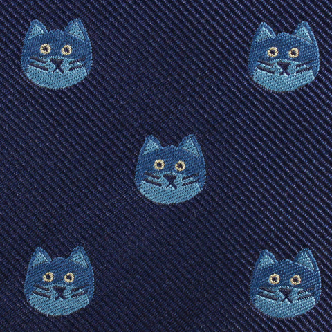 Cheshire Cat Face Diamond Bow Tie